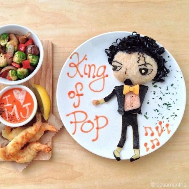 Фуд арт. Картины на тарелках для детей от Саманты Ли 5