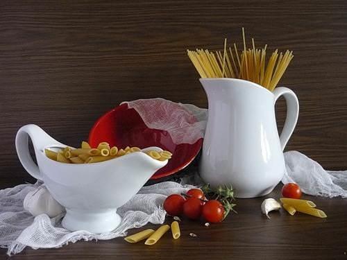 Натюрморты с макаронными изделиями. Картинки с макаронами 1