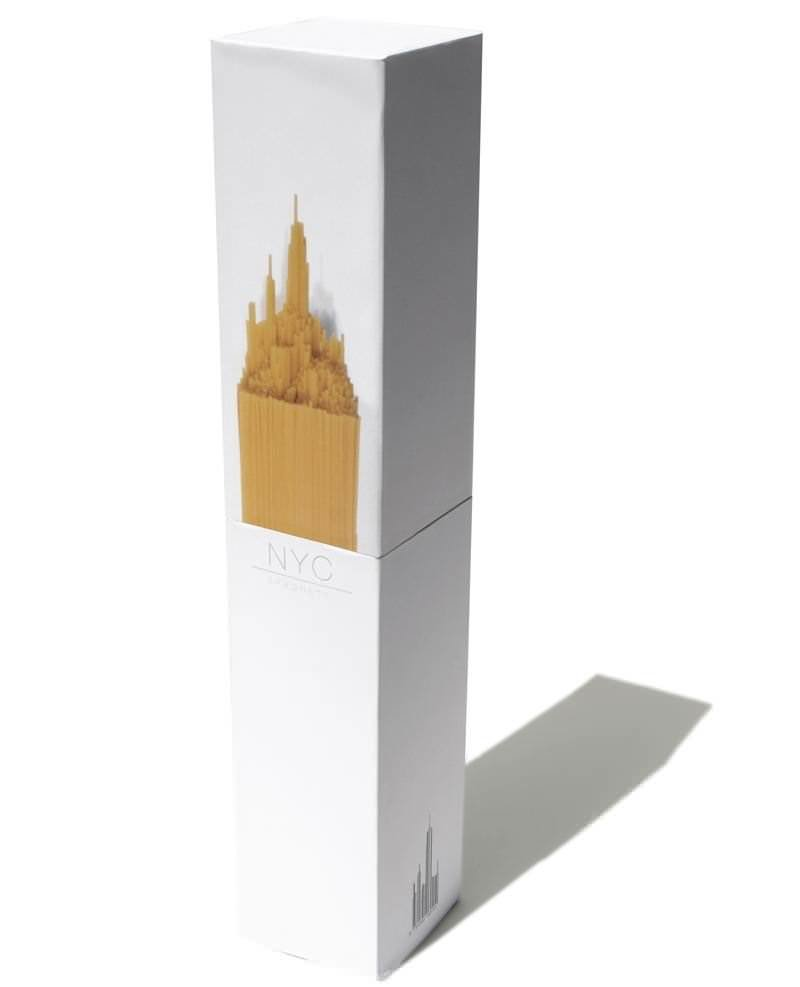 Упаковка спагетти в форме Эмпайр-стейт-билдинг 4