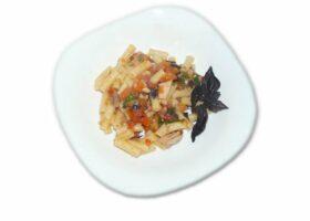 Паста с тунцом, помидорами и шпинатом. Пошаговый рецепт с фото