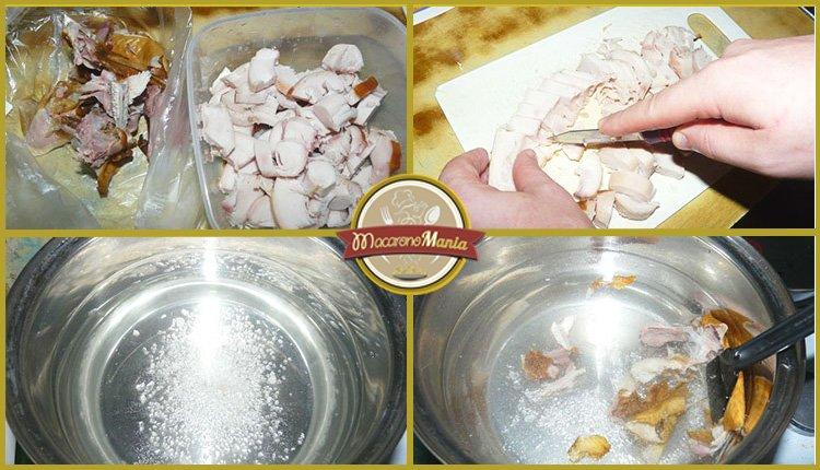 Сырный суп с курицей и вермишелью. Приготовление. Шаг 1