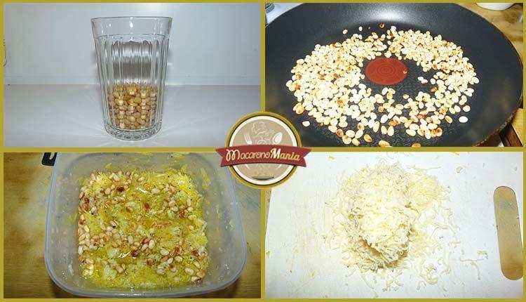 Лимонная паста с сыром. Приготовление. Шаг 3