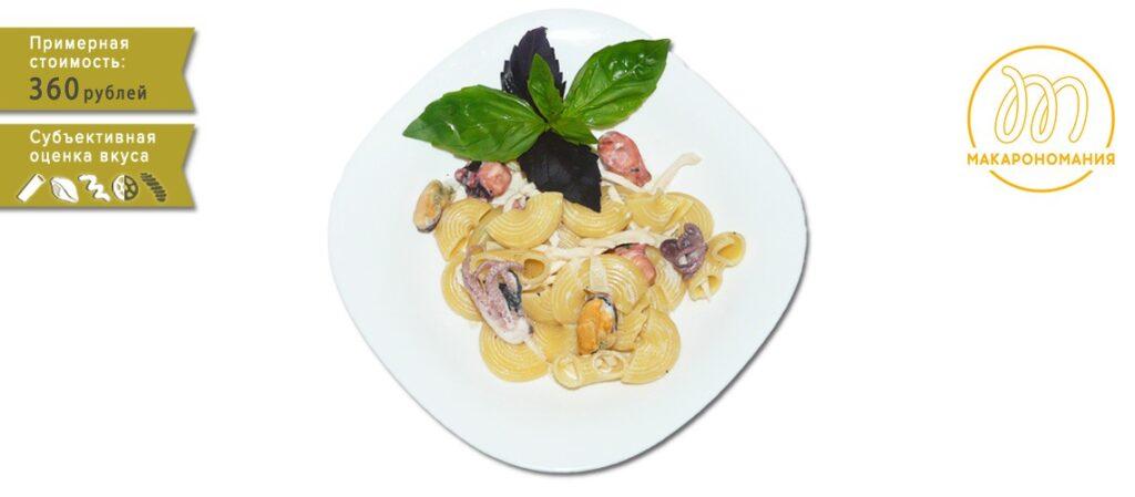 паста с морепродуктами в сливочном соусе рецепт с фото пошагово. Макарономания.