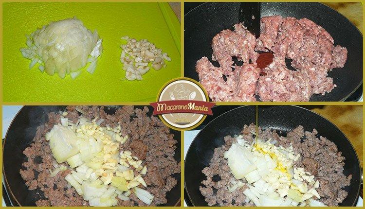 Тимбаль или пирог из макарон. Пошаговый рецепт. Шаг 2