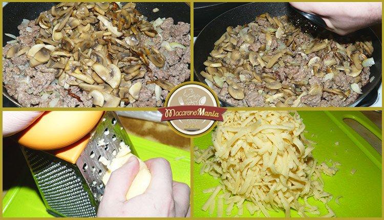 Тимбаль или пирог из макарон. Пошаговый рецепт. Шаг 5