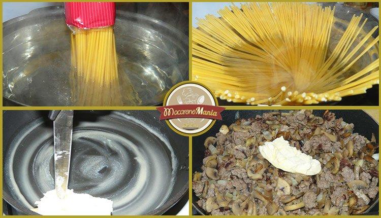 Тимбаль или пирог из макарон. Пошаговый рецепт. Шаг 6