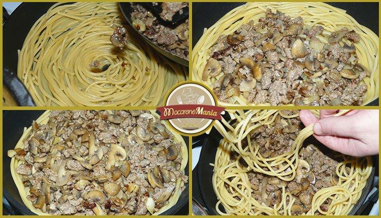 Тимбаль или пирог из макарон. Пошаговый рецепт. Шаг 8