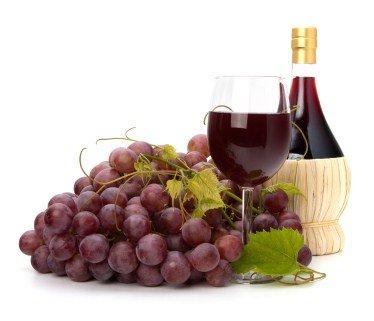 Виды и типы вина в картине-схеме. Красное вино