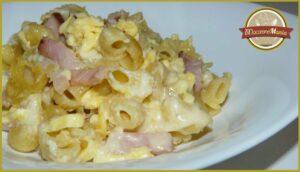 Макароны с сыром в духовке или Мак н чиз с мясом. Готовое блюдо