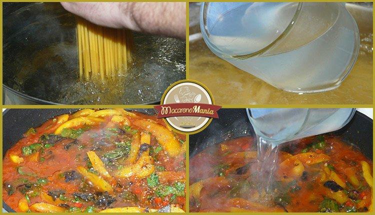 Паста с кабачком (цукини) в томатном соусе от Энрико Карузо. Пошаговый рецепт. Шаг 8