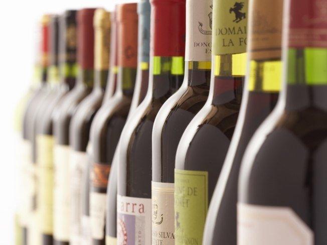 Виды и типы вина в картине-схеме. Игристое, розовое, крепленое вино