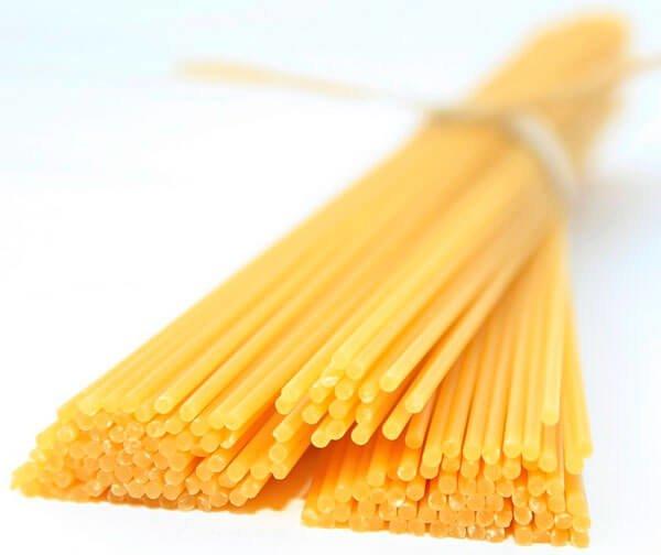 Длинные макароны. Спагеттони (итал. Spaghettoni).