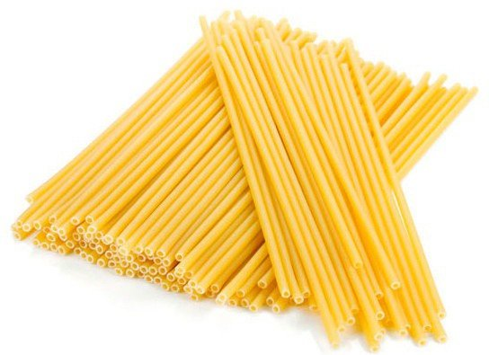 Длинные макароны. Букатини (итал. Bucatini)