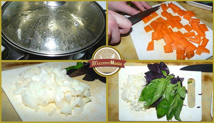Детские макароны. «Осьминожки» с сыром и базиликовым соусом. Приготовление. Шаг 1