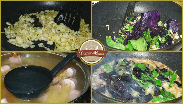 Детские макароны. «Осьминожки» с сыром и базиликовым соусом. Приготовление. Шаг 4