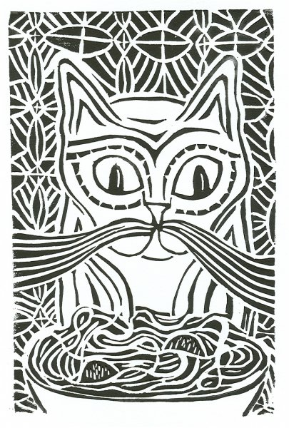Спагетти кот (Spaghetti Cat) 9