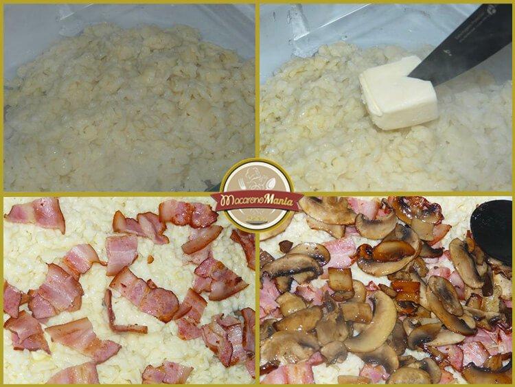 Шпецле (или немецкие клецки), запеченные с беконом и сыром. Приготовление. Шаг 6