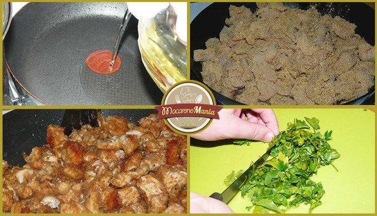 Кускус (Птитим) с курицей и кедровыми орешками. Шаг-6