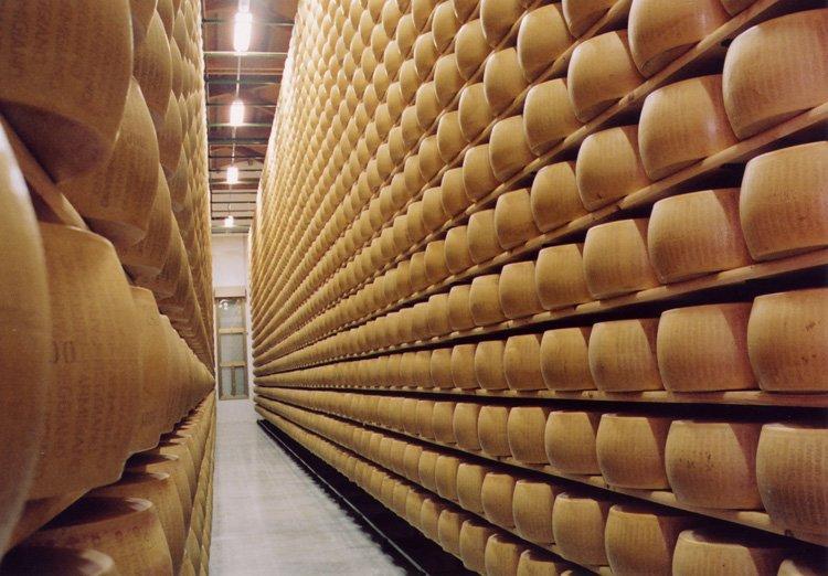 Как производят настоящий пармезан. Созревание сыра
