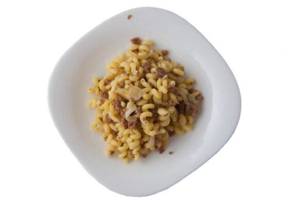 Рецепт «Макароны по-флотски с фаршем». Пошаговый рецепт с фото и стоимостью продуктов. Макарономания