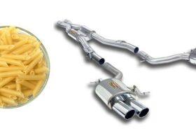 Что общего между макаронами и выхлопной системой автомобиля?
