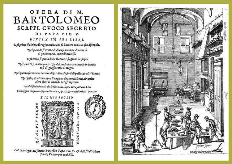 "Кулинарная книга ""Опера"" Бортоломея Скаппи. ""opera"" Bartolomeo Scappi"