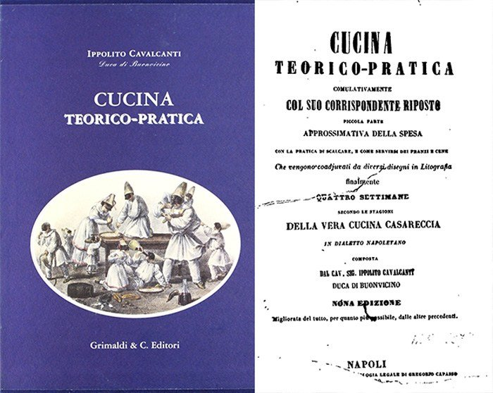 Книга Cucina Teorico Pratica