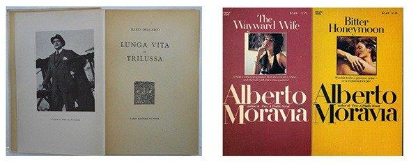 Книги Mario Dellarco и Alberto Moravia