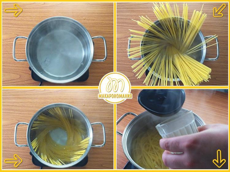 Шаг-2. Варим макароны. Рецепт с фото
